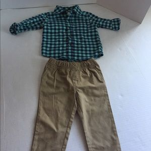Baby Boy's CARTERS Outfit 18 months